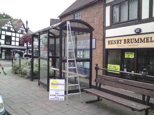 Bus stops for the councils.
